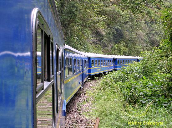 """train to Machu Picchu"""