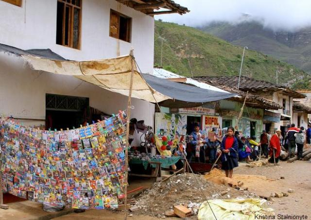 it gathers people from all Chachapoyas region