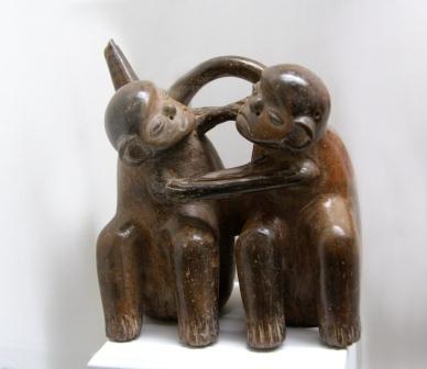 ceramics: monkeys