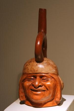 ceramics: happy face