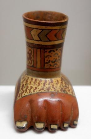 ceramics: foot
