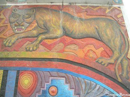 Cusco shape of puma