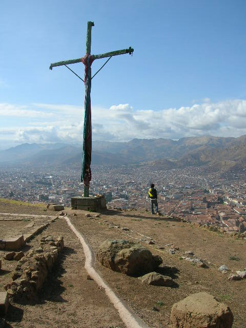 A great view from the cross