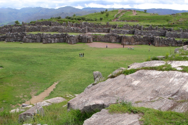 Sacsayhuaman seen from Suchuna