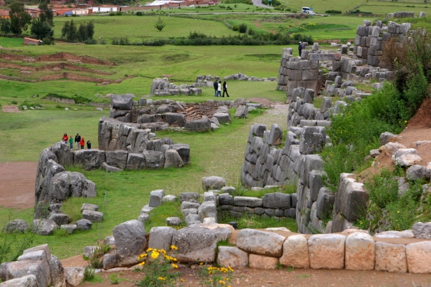 Sacsayhuaman fortress and temple