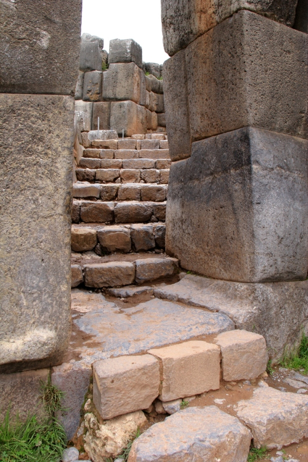 Sacsayhuaman: one stone door