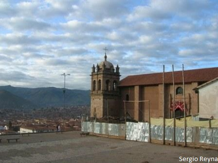 Church of San Cristobal in Cusco