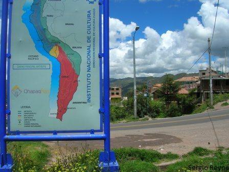 On the way to San Blas