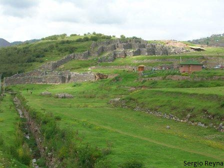 Sacsayhuaman viewed from the bridge
