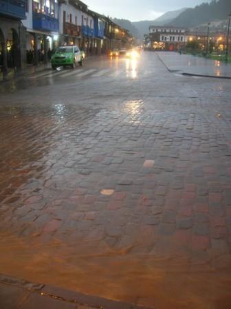 rain in cusco